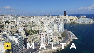 Amazing places of Malta filmed from the air