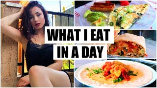 WHAT I EAT IN A DAY (realistic + healthy recipes for weight loss)
