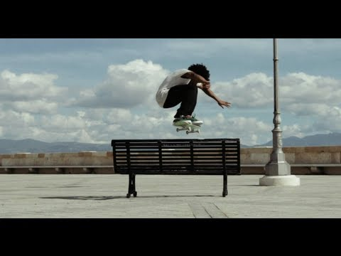 Street Skating in Sardinia - Korahn Gayle 2013