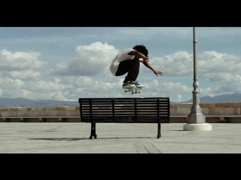 Street Skating In Sardinia - Korahn Gayle 2013 video