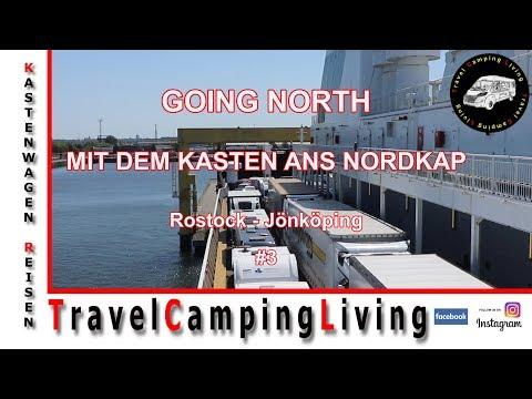 NORDKAP TOUR #3, PARKPLATZ ROSTOCK, CHECK-IN FÄHRE ROSTOCK-TRELLEBORG, PARKPLATZ JÖNKÖPING