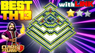 *HOT!!* BEST TH13 War Base & TH13 Legend League Anti 2 Stars Base - Town Hall 13 Clash of Clans #57