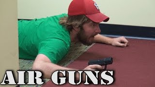 Random Creature Office Moment | Air Guns