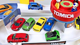 Best Toddler Learning Cars Trucks Colors for Kids #1 Teaching Colours Tomica Auto Parking Garage