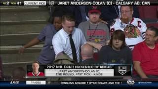 2017 NHL Draft - Round 2, Pick 41- LA Kings Select Jaret Anderson-Dolan