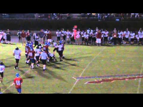 Houston Crouch #17 2013 Football Highlights Harpeth Middle School