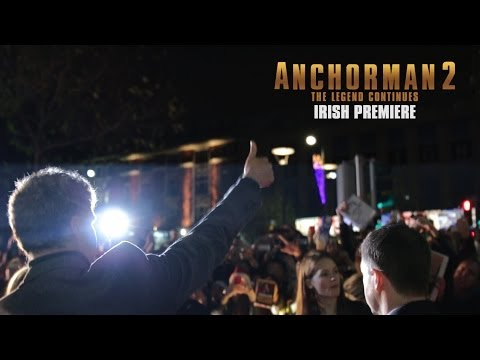 Anchorman 2 Irish Premiere Interviews – Will Ferrell, Steve Carell, Paul Rudd