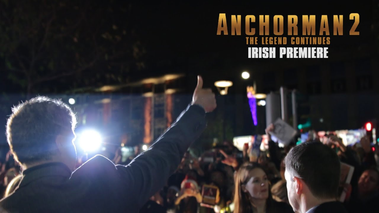 Anchorman 2 Dublin Premiere