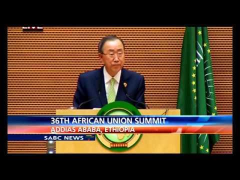 UN SG Ban Ki-Moon address: 26th AU Summit