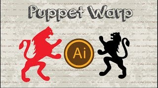 How to use Puppet Warp in Adobe Illustrator CC 2018