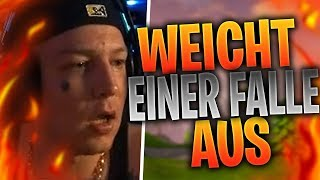 MONTE weicht einer Falle aus | KAMOLRF raged | Fortnite Highlights Deutsch