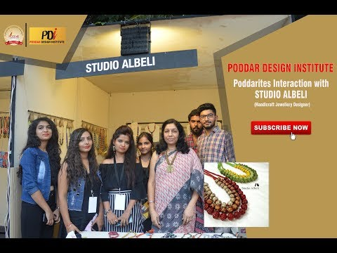 Studio Albeli | Rajasthan Heritage Week 2018 | Poddarites Interaction | Poddar Design Institute
