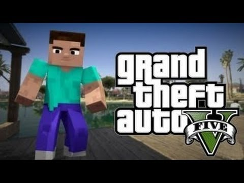 GTA в Майнкрафт! [ GTA V in Minecraft ]