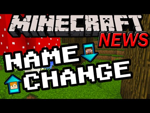 Minecraft News: Name Changing Details! Free Feature, Unpaid Names Expiring, Release Date