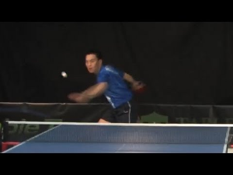 Forehand Counter Loop - Table Tennis (HD)