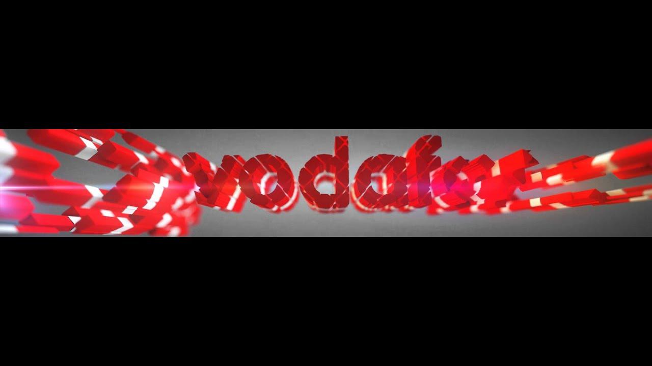 Vodafone Logo Vodafone Logo Animasyon