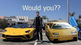 Should I trade the Diablo for an Aventador S?   Rob Dahm