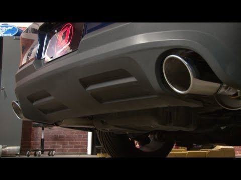 Mustang Roush Axle Back Exhaust Installation 2011-2014