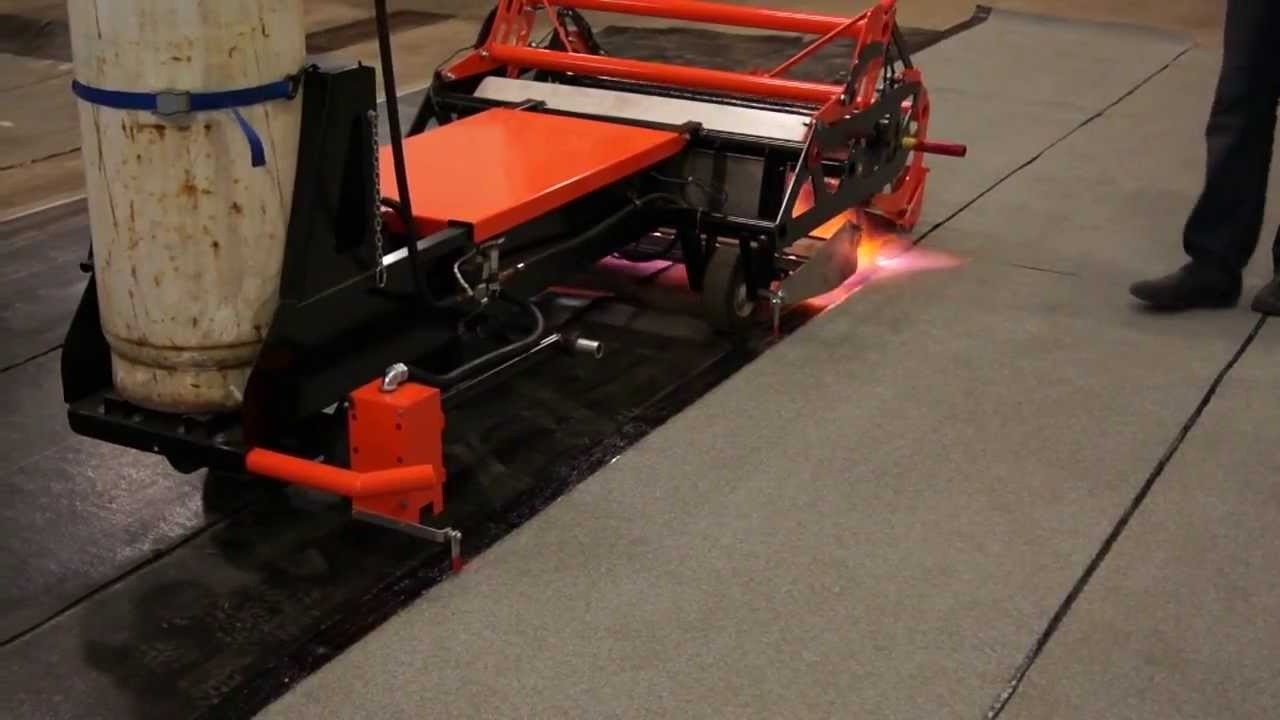 Unify Er Modified Bitumen Remote Controlled Torching