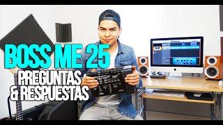 """Download Lagu Pedalera Multiefectos Boss Me 25 """"PREGUNTAS Y RESPUESTAS"""" Gratis STAFABAND"""