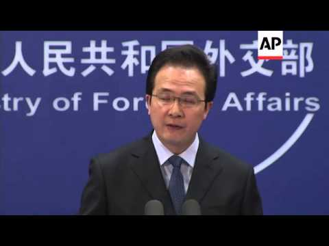 Foreign ministry officials comments on search for MH370 and hacking
