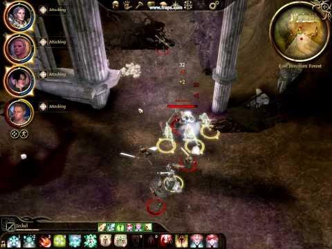 Dragon Age Origins Best build ever!! 30 sec revenant takedown