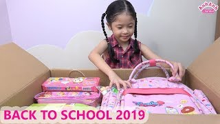 BACK TO SCHOOL 2019 - BÉ TRÂM ANH CHUẨN BỊ ĐỒ DÙNG HỌC TẬP CHO NĂM HỌC MỚI