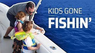Introducing Children To Fishing on Kid-Friendly Fishing Trip!