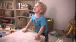 "Trajan the rockstar baby drummer singing ""Who Do You Love"""