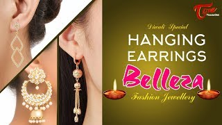 Fashion Passion | Hanging Earrings Belleza Fashion Jewellery | Diwali Special