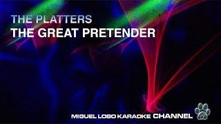The Platters The Great Pretender Karaoke Miguel Lobo