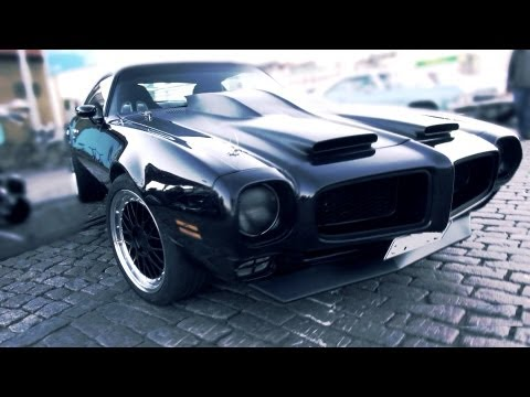 Custom 1972 Pontiac Firebird - V8 sound!