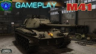 Armored Warfare | M41 Нервный Gameplay
