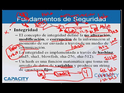 Curso de Seguridad - Fundamentos de Seguridad Informática - Leccion 1/8 - CAPACITY
