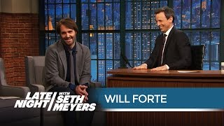 Watch the Hilarious Speech Will Forte Gave at Seth