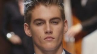 Cindy Crawford's Son Presley Gerber Walks the Runway