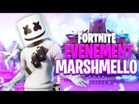 LE MEILLEUR EVENT SUR FORTNITE !! - Concert Marshmello