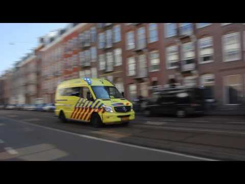[Compilatie] 6x Ambulance met Spoed vanaf Post OVLG Oost in Amsterdam