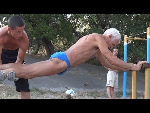 Best dressed older man workout