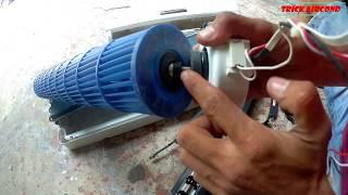 CEK&TUKAR FAN MOTOR AC TUTORIAL//TRICK AIRCOND