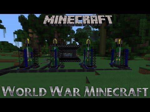 Minecraft Voltz : World War Minecraft - Minecraft Voltz : CoalMiner's Bunker Entry!
