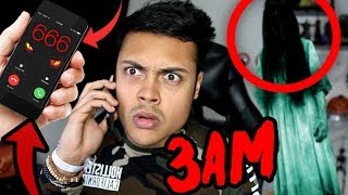 RINGING CURSED PHONE NUMBERS AT 3AM (THEY CALLED BACK)