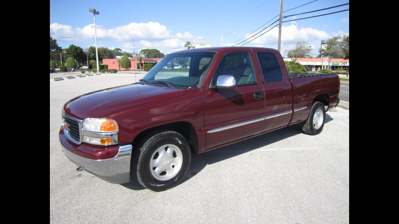 Sold 2001 Gmc Sierra 1500 Sle Ext 4dr Meticulous Motors