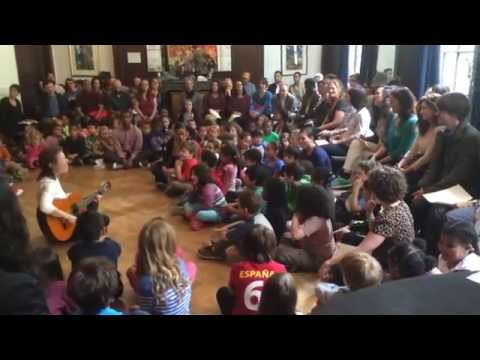 Lower School Sing Along at Manhattan Country School - 05/14/2014
