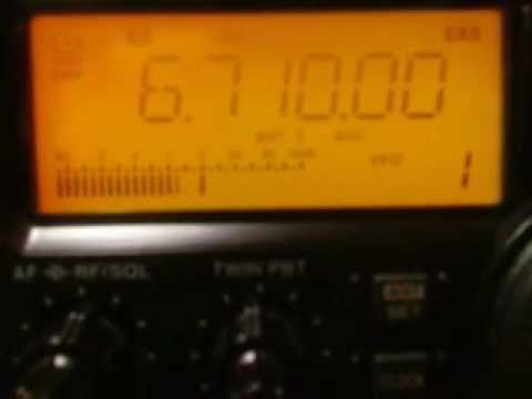 6710khz,LSB,AMATEUR RADIO,00-24UTC.