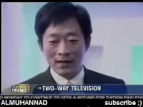 اختراع جديد من شارب تلفزيون يعرض قناتين في نفس الشاشة