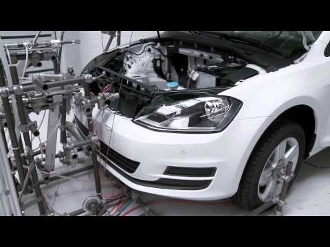 Volkswagen Golf Development - Overall-Vehicle Test Stand | AutoMotoTV
