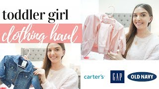 HUGE BABY GIRL CLOTHING HAUL 2019 // TODDLER CLOTHING 12 MONTHS +