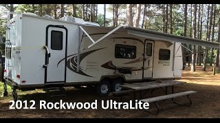 Trailer Tour: 2012 Rockwood Ultralite | Our Lives, Our Reasons, Our Sanity