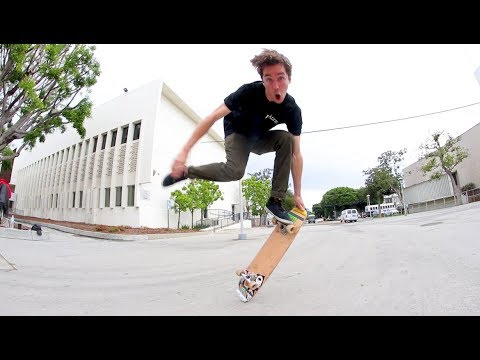 This Skateboarder  DEFIES PHYSICS!